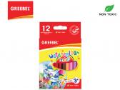 GREEBEL 4012 Half Water Colour Pencil 12 Warna