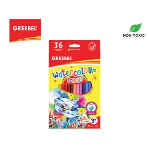 GREEBEL 8036 Water Colour Pencil 36 Warna