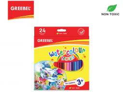 GREEBEL 8024 Water Colour Pencil 24 Warna